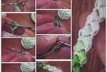 Trabajos de crochet #ateliermanosalaobra / Hilo, Lana en crochet