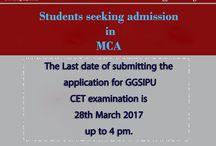 MCA CET Examination