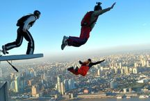 Respect / People jumping out of planes and off rocks.