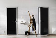 Room doors / Zimmertüren