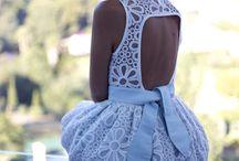 Dress / White / by Ardessia Benton