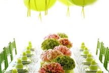 wedding Ideas - Green