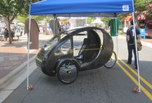 Organic Transit ELF pedal/electric trike / by Electric Bike Report