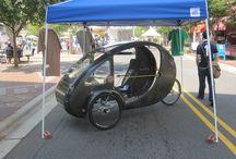 Organic Transit ELF pedal/electric trike / by Electric Bike Report