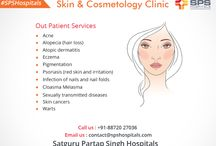 Skin Disease Treatment Hospitals in Ludhiana, India / The Department of Skin & Cosmetology at SPS Hospitals focuses on promoting skin health and well-being.