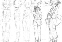 Drawing tips/tutorial / by Jasmine Jeffries