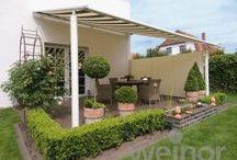 Terrasse - terasz - Terrace / Gestaltungsideen