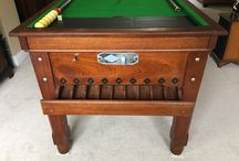 Vintage Bar Billiards Tables
