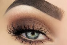 Make up eyeshadow