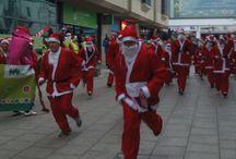 Santas on the Run St Austell 2013 / Santas on the Run St Austell