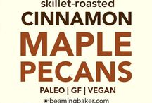 cinnamon maple pecans