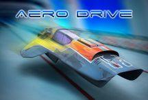 Aero Drive / Have you ever experienced speed so fast you could feel it rip the photons off your vehicle's frame?