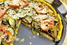 Polenta/cornmeal pizza