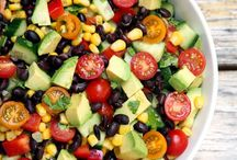Salads and sides / Healthy salads and vegetable side dishes to accompany and main meal.