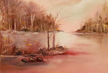 paintings by Nadim Najimi