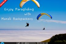 Paragliding in Manali / Enjoy Paragliding in Manali at lowest prices.