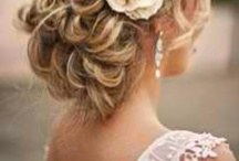 DW Hair Inspiration / #destinationwedding #hair inspiration   #hairdo #bridal #wedding #updo #veil / by Wander Love Weddings & Travel