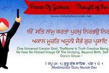 "[Jan 2015]Power Of Gurbani - Thought Of the day / From January 2015, we have started ""Power of Gurbani – Thought of The Day"" service with the intention to motivate and inspire people to follow the Sikh way of Life. In other words, Gurbani Thought of the Day  can be seen as your ""Daily Medication for the Soul"". These Quotes are the words of wisdom taken from Shri Guru Granth Sahib Ji. We believe that words are powerful and they have the power to tear you down and have the power to build you up. It's our Choice how we adopt it."