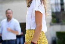 yello skirt