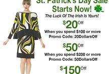 Eva Varro St Patrick's Day Sale! / Eva Varro St Patrick's Day Sale! go to evavarro.com