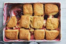 crumbles and cobblers, oh my!