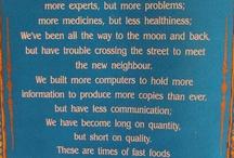 Inspiration & Quotes / by Carolina Tikerpe