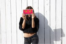 Acrylic Clutch Collection // SP / Acrylic clutch collections by Stefanie Phan