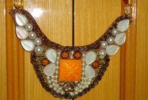 Minhas Criações ( My Work) / A partir dos colares que  tenho pesquisado e minha  criatividade,  montei  estes colares da minha nova  coleção, Se vc gostar, mande-me um e-mail: cacauron44@hotmail.com I love maxi necklace, and I do it... my creations... If, you like it, send me e-mail:  cacauron44@hotmail.com