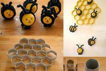 activitati cu albine
