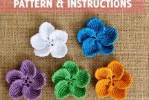 Häkeln Sie Muster Rose Häkelanleitung Blume von HappyPattyCrochet