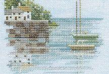 Cross stitch sea2