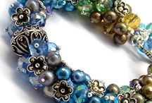 "Beads - Not Just For Hippies! / I've always loved beads, and their use in jewelry is timeless!  But the one remark that always sticks in my head about them is a co-worker who said with utter disdain: ""Beads are for hippies""!   I say:  BEADS ON ALL! / by Busy Crow Studio"