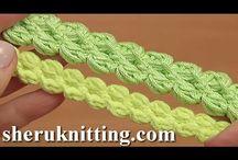 gehaakte koortjes / crochet cord