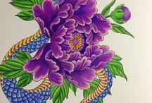 chris garver / colouring