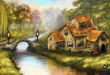 Paintings / by Vinika