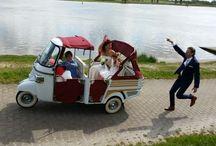 trouwtuktuk / Tuktuk als origineel trouwvervoer door heel Nederland. Kijk eens op www.mytuk.nl voor origineel trouwauto verhuur.
