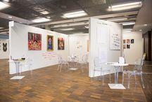 """Art exhibition by GALERIANKA // International Art Fair Warsaw 2016 / Art exhibition named """"#DZIEWCZYŃSKO"""" at International Art Fair in Warsaw, PGE Stadium. April 7-10, 2016.  Artists: Małgorzata Kalinowska, Ya Kenaya, Agnieszka Strzeżek & Grupa Zawszenie.   Curator: GALERIANKA // MOBILE ART GALLERY // ART GALLERY TRUCK"""