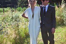 The Modern Bride / The coolest women in Zero + Maria Cornejo on their big day.