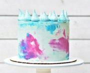 scrape cake
