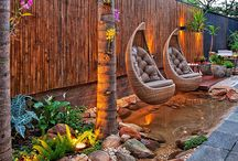 Slope Landscape / getting inspired for my back garden design