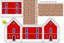 Recortables edificios