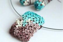 Бижутерия с полимерной глины