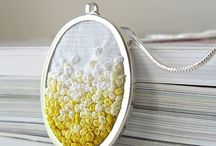 Jewelry embroidery