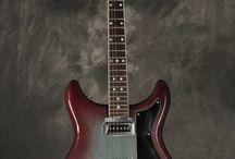 unusual colors guitars