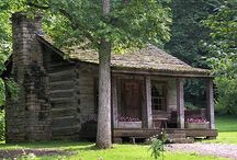 log cabins and homes