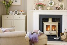 Cosy sitting rooms