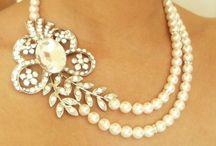 vintage necklaces etc.