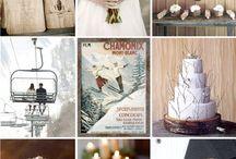 chalet theme wedding / wedding,luxury,trend