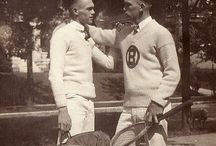 1920's tennis attire to match our car ;)