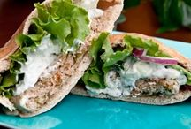 healthy . burgers / by Stephanie Shifflett